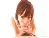 Ayame Sakura naughty Asian babe enjoys sucking cock for fun on dates picture 15