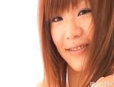 Ayame Sakura naughty Asian babe enjoys sucking cock for fun on dates