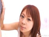 Chizuru Moriil Hot Japanese tramp Gets A Sticky Facial picture 14