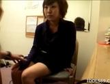 Yuu Sexy Asian Office Girl Gets A Rear Fucking