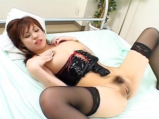 Miu Satsuki Naughty Japanese Model Enjoys Showing Off Her Big Tits