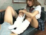 Naughty Japanese Ema Kisaki enjoys hardcore at school picture 14