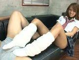Naughty Japanese Ema Kisaki enjoys hardcore at school picture 15