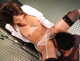 Anna Kousaka Hot Asian babe spreads her legs