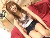 Aisaki Kotone Horny Japanese Doll Plays With Her Pussy picture 13