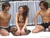 Asahi Miura Hot Horny Asian Doll Is Enjoying Her VIbrators