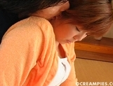 Ai Himeno Cute Teen babe Gets Her Pussy  With Cum picture 12