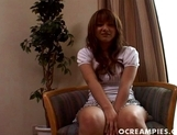 Rui Natsukawa Pretty Asian Teen Shows Big Tits And Smiles