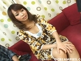 Neon Kanda Sexy Asian MILF Is A babe For A Good Looking Guy