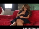 Hitomi Mano Asian babe Enjoys Pussy FIngering And Her Toys picture 14