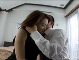 Japanese AV Model Gets A Backside Sex Treat picture 12