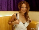 Ai Natsuki Lovely Asian Call Girl Enjoys Her Fruits picture 10