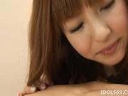 Aisaki Kotone Naughty Asian Teen Is A babe Who Enjoys Creampie Endings