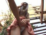 Ai Nikaidou Asian chick gets pussy fingered picture 14