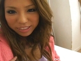 Romihi Nakamura Big Boobed Asian babe Shows Her Tits And Pussy