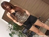 Mimi Kousaka Pretty Asian babe Loves To Show Off Her Big Tits
