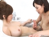 Rio Hamasaki Lovely Lesbians Having Lots Of Fun In The Shower
