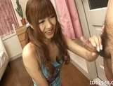 Aisaki Kotone Lovely Asian Teen Gives Great Handjobs And Head picture 14