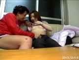 Yuu Japanese AV Model Gives Her Guy A Hot Suck Job