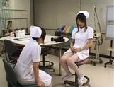 Yuki Mana and Emiri Aoi Japanese lesbian nurses