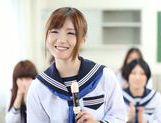 Young Maya Kawamura gives astounding blowjob