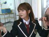 Jaopanese teen Akiho Yoshizawa in action picture 12