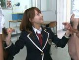 Jaopanese teen Akiho Yoshizawa in action picture 15