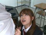 Jaopanese teen Akiho Yoshizawa in action