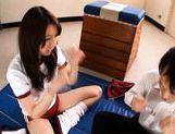 Yui Tatsumi Japanese hot schoolgirl enjoys sex picture 11