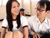 Yui Tatsumi Japanese hot schoolgirl enjoys sex picture 14