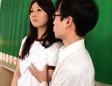 Yui Tatsumi Japanese hot schoolgirl enjoys sex picture 8