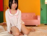 Sweet Asian girl in fancy pink bikini Tsugumi Uno enjoys cock insertion