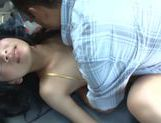 Hot Japanese sex doll Mikako Abe in hardcore Asian pov action picture 89
