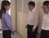 Hot blowjob with Japanese teacher, Kimika Ichijou, in heat picture 12