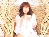 Beautiful Yumi Takeda gets her tits, pussy and anal rubbed with toys picture 14