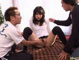 Teen Tsubomi Has These Guys Cumming All Over Her