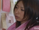 Mika Kayama Busty Asian maid likes cum covered titties