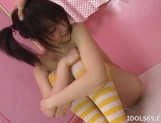 Ai Kousaki naughty Asian model enjoys a dildo