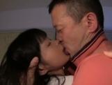 Sweet teen angel Kaho Mizuzaki enjoys thick dick in her tight pussy