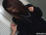 Azumi Mizushima Hot Asian Model Likes Sucking Cock