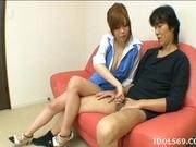 Rio Hamasaki Lovely Asian Model Has Nice Big Tits