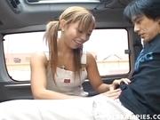 Aya Fugi Naughty Asian Teen Enjoys Sucking Cock