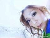 Miwa Yoshida Asian model has a nice set of knockers and a hairy pussy