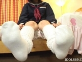 Chicko Yasuda Lovely Japanese Model Is A Student Who Likes It Hard picture 11
