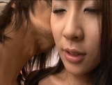 Rinka Aiuchi Asian model in sexy lingerie gets some hot hard fucking