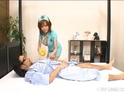 Rio Hamasaki Big Boobed Nurse Enjoys Her Patients