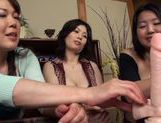 Hot mature starts a wild group sex action picture 13