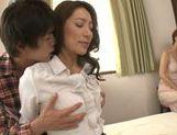 Marina Matsumoto enjoys big cock up her vagina