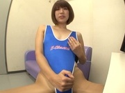 Stiff toy to please nasty Seira Matsuoka
