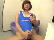 Stiff toy to please nasty Seira Matsuoka